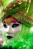 Venedig-Schablone, Karneval. Stockfotos