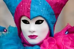 Venedig-Schablone, Karneval. Stockbilder
