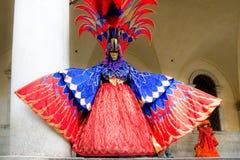 Venedig-Schablone, Karneval. Lizenzfreie Stockbilder