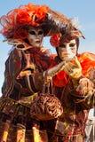 Venedig-Schablonen, Karneval. Stockbilder