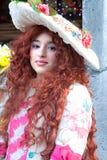 Venedig-Schablonen, Karneval. Stockfotografie