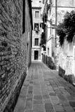 Venedig in Schwarzweiss lizenzfreie stockfotografie