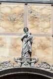Venedig - Scuolaen Stor di San Marco Arkivbild