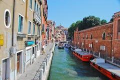 Venedig sikt Arkivfoto