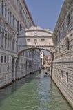 Venedig sikt Arkivbild