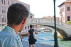Venedig sikt Royaltyfria Foton