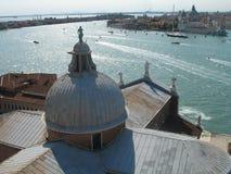 Venedig sikt av lagun Royaltyfri Fotografi