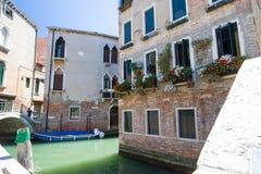 Venedig `-sikt - Italien Fotografering för Bildbyråer