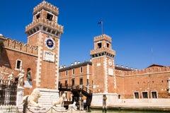 Venedig `-sikt - Italien Royaltyfri Bild