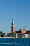 Venedig sikt på ett ljust Arkivbilder