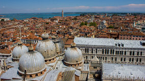 Venedig-Skyline Lizenzfreies Stockfoto