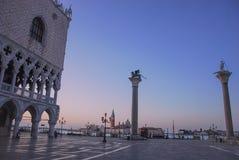 Venedig soluppgång royaltyfri foto