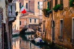 Venedig, som är fotografering för bildbyråer