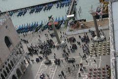 Venedig som ses från över royaltyfri foto