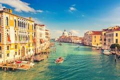Venedig am sonnigen Abend Lizenzfreie Stockfotos