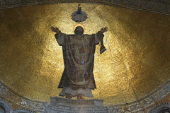 Venedig- - St- Markbasilika-Mosaik Stockfotografie