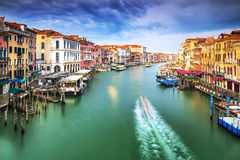 Venedig stad arkivbild
