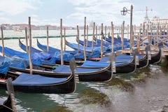 Venedig stad landskap. Morgon Arkivfoto