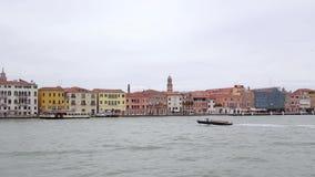 Venedig-Stadt, Italien stock video