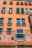 Venedig-Stadtbild, Wasserkanäle und traditionelle Gebäude Italien, Europa Stockfoto