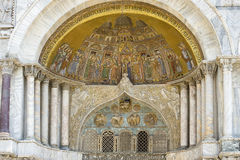 Venedig - Str. markiert Basilika lizenzfreie stockfotografie