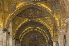 Venedig - Str. markiert Basilika stockfotografie