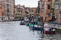 Venedig-Straße stockbild
