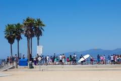 Venedig strand CA Arkivbilder