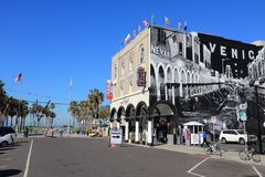 Venedig strand, Kalifornien Royaltyfria Foton