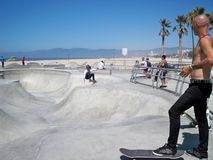 Venedig-Strand Kalifornien 03-10-2008 lizenzfreie stockfotografie