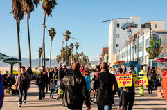 Venedig-Strand (Kalifornien) Stockfotografie