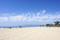 Venedig-Strand, Los Angeles, USA Stockbild