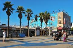 Venedig-Strand, Vereinigte Staaten Stockbild