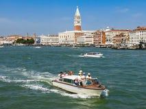 Venedig strandsikt Arkivfoto