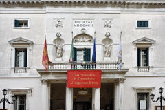 Venedig - Teatro la Fenice Royaltyfri Bild