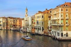 Venedig tidigt på morgonen Arkivfoto