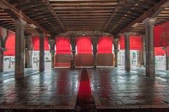 Venedig tomt marknadsställe Royaltyfri Bild