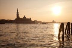 Venedig tusen dollarkanal Royaltyfri Bild