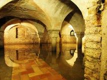 Venedig-undergound - die Krypta von St. Zachary Church Lizenzfreie Stockbilder