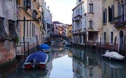 Venedig vattenväg Arkivfoton