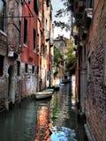 Venedig vattenväg Royaltyfria Bilder