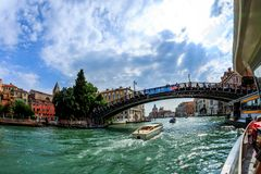 Venedig - Venezia in Italien lizenzfreies stockfoto
