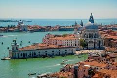 Venedig von einem Brummen lizenzfreies stockbild
