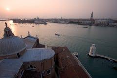 Venedig von Maggiore stockfotografie