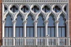 Venedig Windows Lizenzfreie Stockfotos