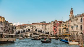 Venedig-Zeitspanne stock video