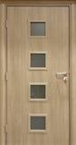 veneer роскоши двери Стоковое Изображение RF