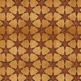 Veneer star pattern. Veneer pattern with stars. Useable as floor tiling or any backdrop. Within limits seamless Pattern Stock Photos