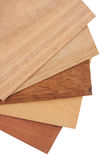 Veneer samples. Tasmanian timbers are some of the most beautiful and distinct timbers available in Australia. Veneer packs contain samples of blackwood, myrtle Royalty Free Stock Photography
