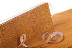 Veneer Tape. Veneer taping. Do it yourself Stock Image